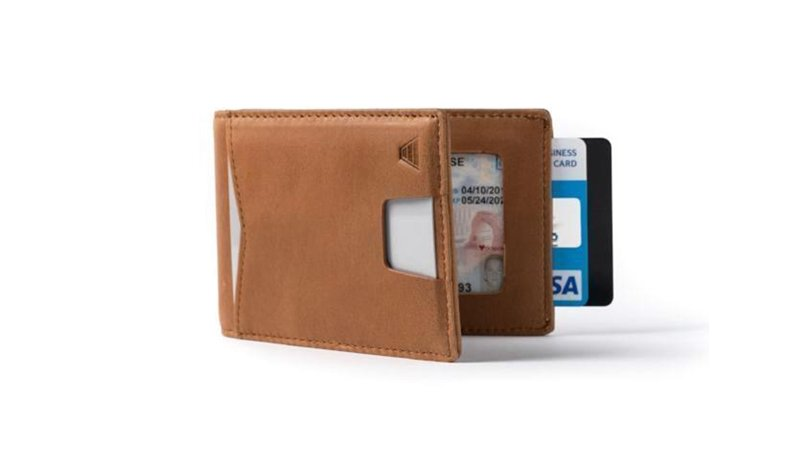 the andar apollo wallet in brown