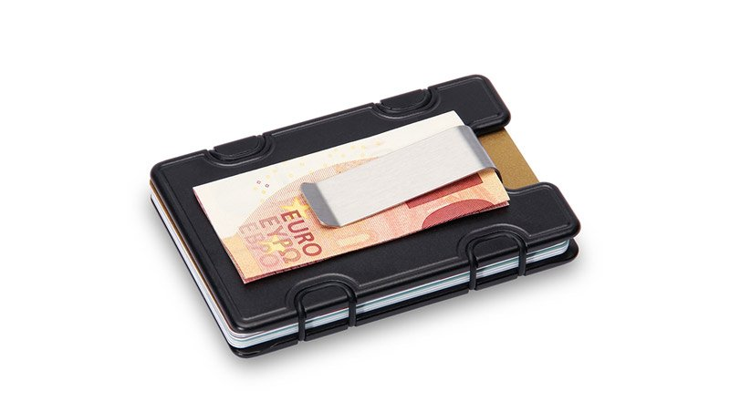the metal wallum m1 wallet with money clip