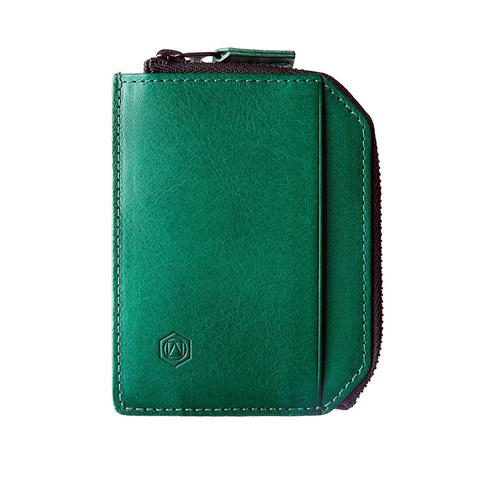 Capsule accomplice wallet green