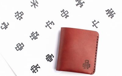 The Monogram Wallet: Kickstarter Funded