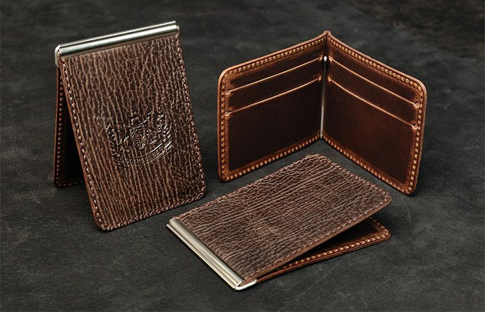 Mitchell-leather-money-clip-wallet