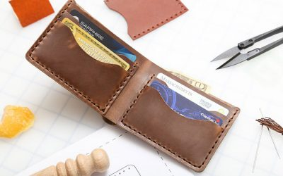 The Best DIY Leather Wallet Kits