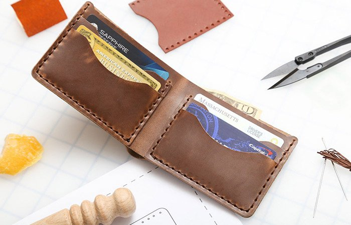 Toddler-Leather-Wallet-Kit