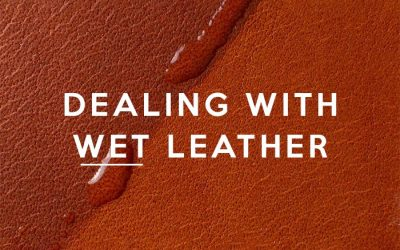 What to do If Leather Gets Wet?